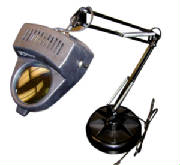 desk magnifying glass lamp with base