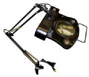 5X Diopter Fluorescent Illuminated Magnifier Lamp-