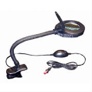 Lighted Bench Magnifier-Clamp-On
