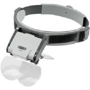 headband jewelers magnifying visor with light