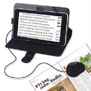 portable video reading magnifier/visually impaired