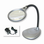 magnifying glass with light-led lighted