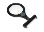 Illuminated magnifier.-neck magnifier